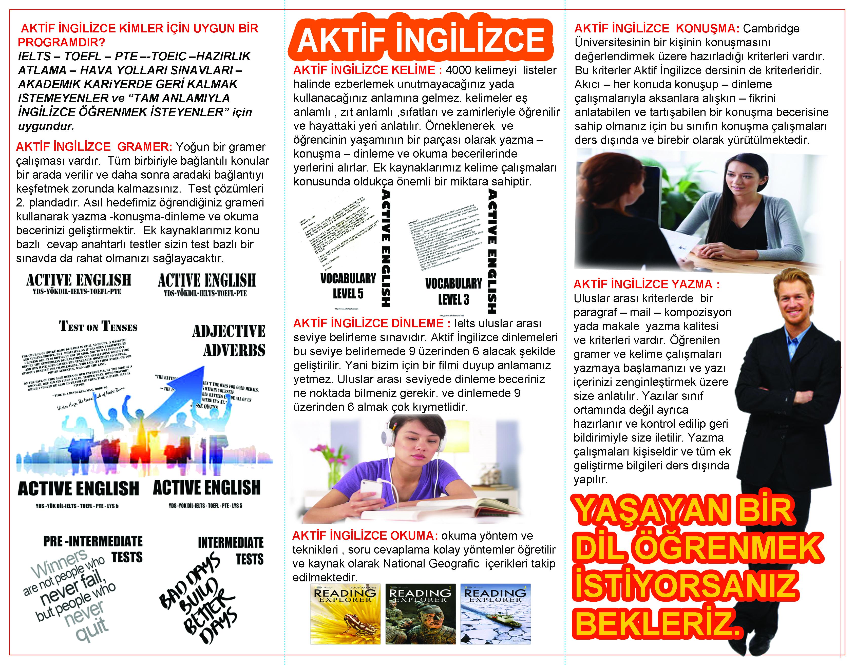 akademik gramer – IELTS TOEFL PTE YDS YÖKDİL iTEP