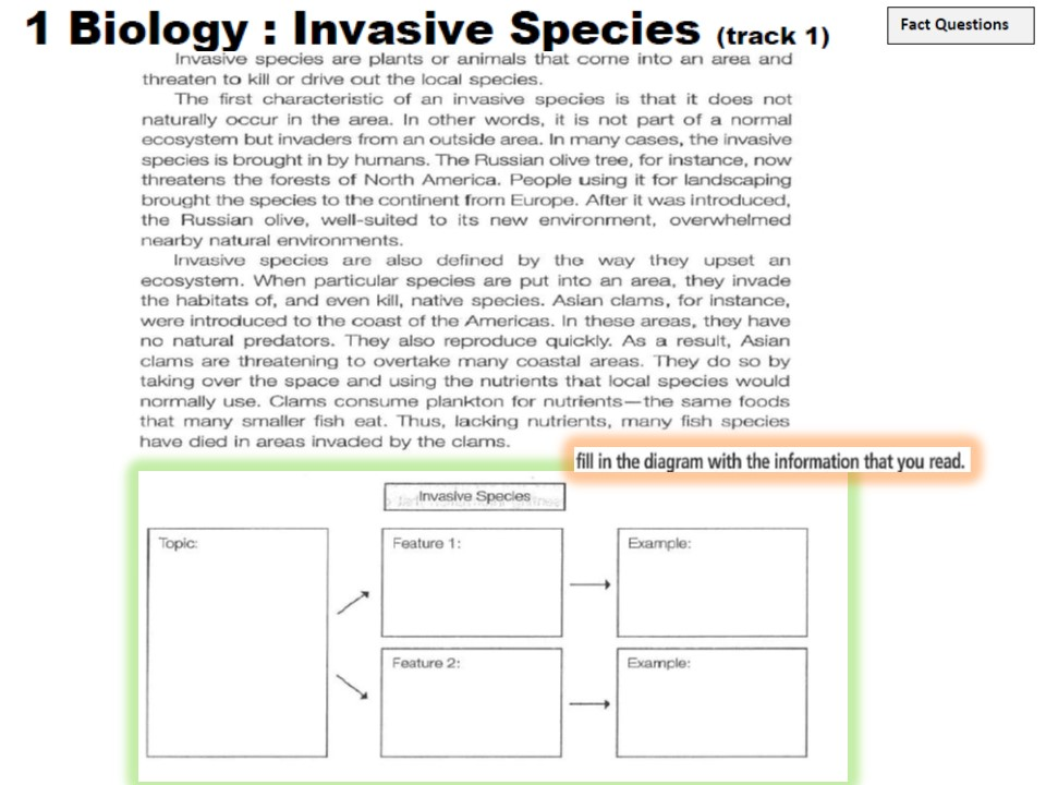 invasive species essay question