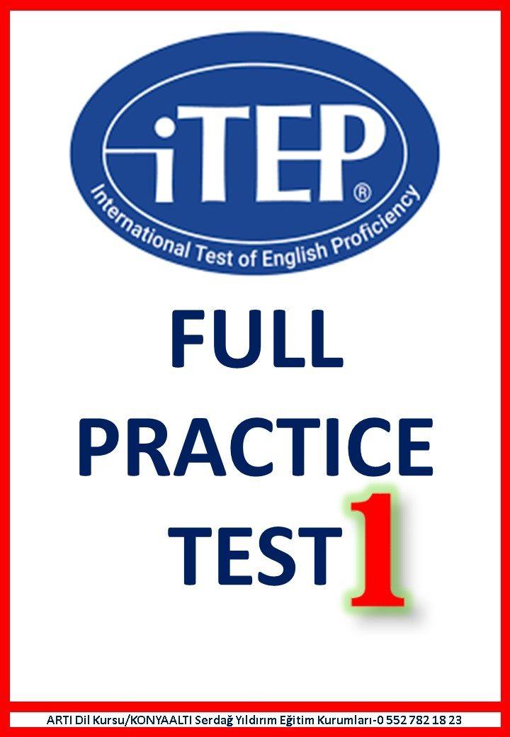ITEP FULL PRACTICE EXAM 1