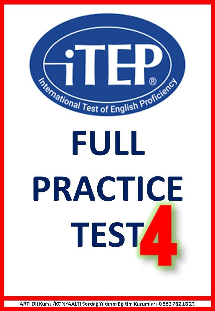 ITEP FULL PRACTICE EXAM 4