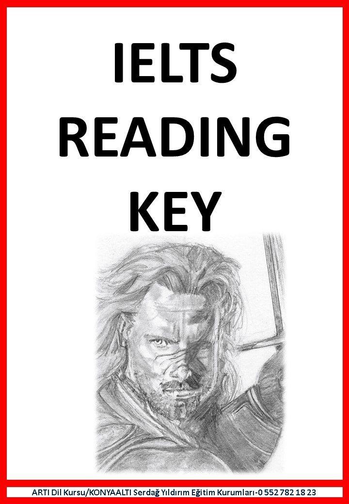 IELTS READING (self study) KEY